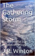 the gathering storm book cover