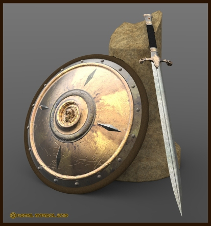 shield and sword by Dreamdesigner442 DeviantArt